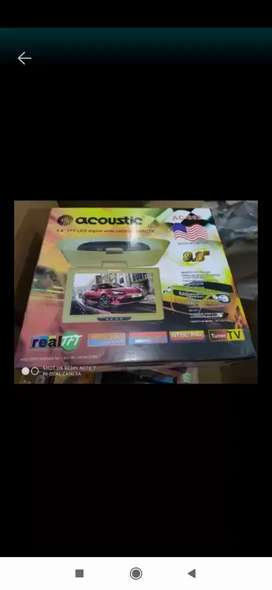 Tv 9,8 inch acoustic  ( Megah top )