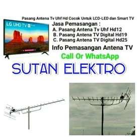 Pusat Antena Tv Uhf / Berikut pasang bisa Pararel