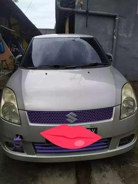 Jual mobil suzuki swift 1.5 st tahun 2006 warna abu2