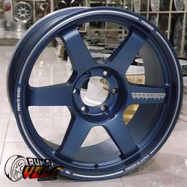 NEW NORMAL VELG MOBIL R20 Te37 Pro Racing  Pcd 6 -139.7 PAJERO HILUX