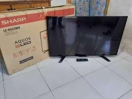 TV LED 45in SHARP FULL HD - Digital Slim Tipis Garansi