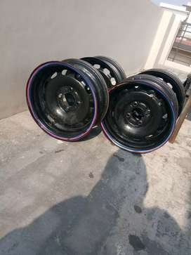 Drum alloy wheels 14'