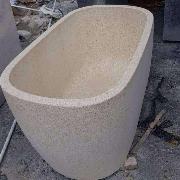 Bathtub tipe Jepang Parvaiz Terazzo