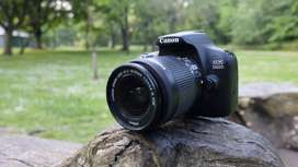 Canon 1300D with 18-55MM Lens