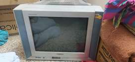 Sansui woofer crt tv 21 inches