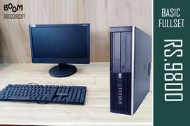 HP Basic Home and Office Fullset - Warranty with Bill