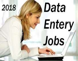 SIMPLE TYPING WORK AT HOME (DATA ENTRY TYPING)