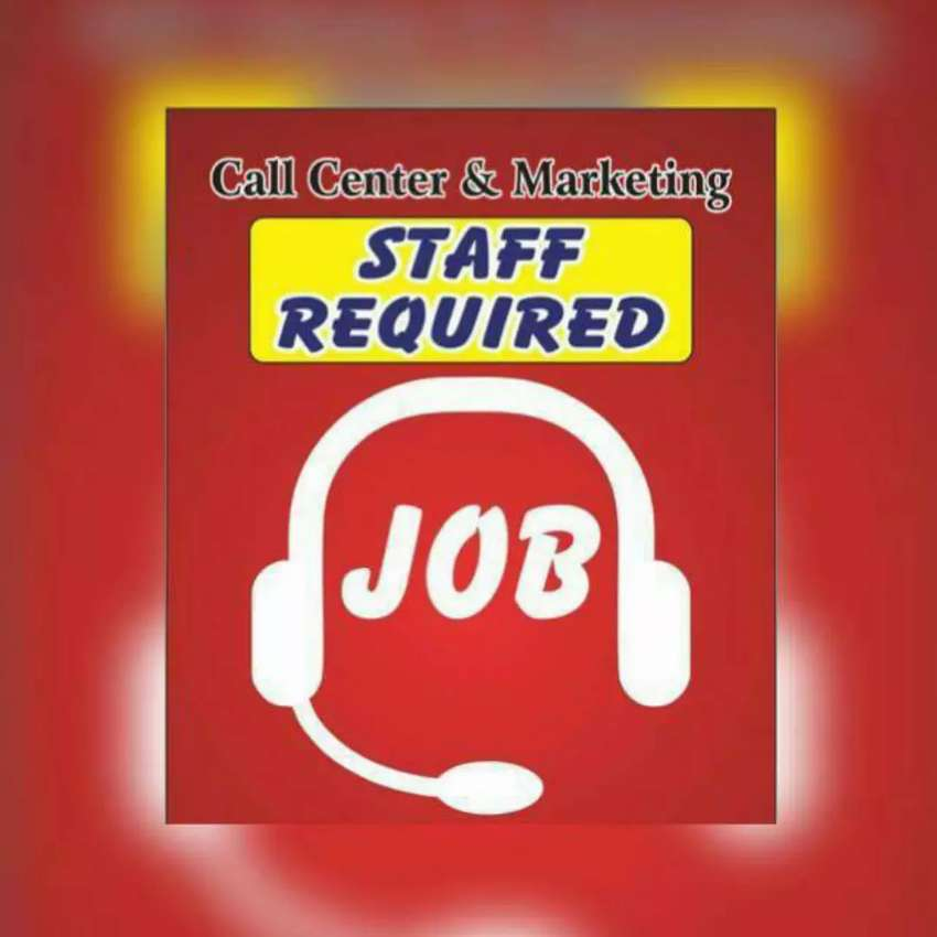 Staff required for call center job 0