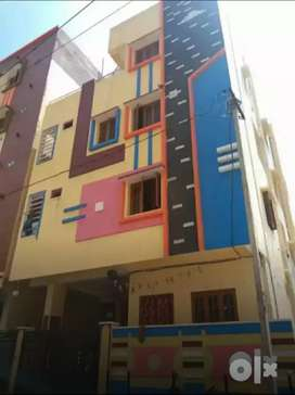 Uppal, 130 sqyds G+3 Building with rents 46000/-.