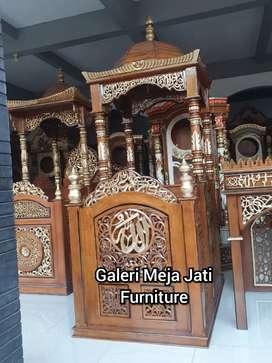 Mimbar masjid kuba D843 talk