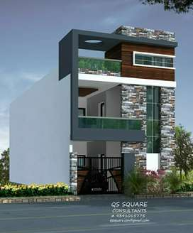 Beautiful House G+1 for sale at Laxmi teja Estate near Dollar hills.