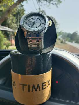 Timex Wrist Silver Steel Men's Watch