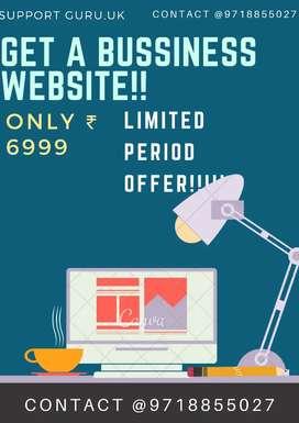 GET YOUR BUSSINESS ONLINE WEBSITE@6999