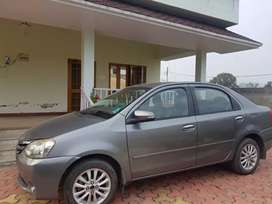 Toyota Etios V Petrol Scratch less Condition.