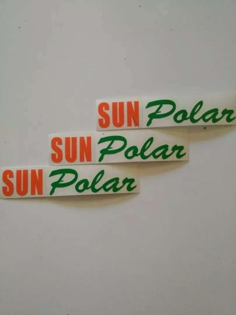 Kaca film sunPOLAR is the best. 0