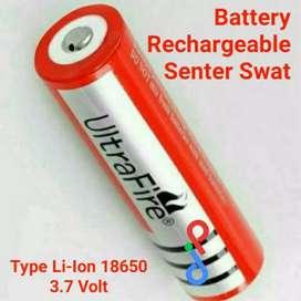 Battery Senter Swat Baterai senter