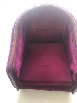 Sofa set and chairs