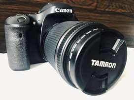 Canon 80D Rp 12.500.000 (Nego Tipis) bisa COD