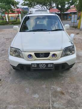 Honda CR-V  2001 2.0cc putih mulus dan terawat