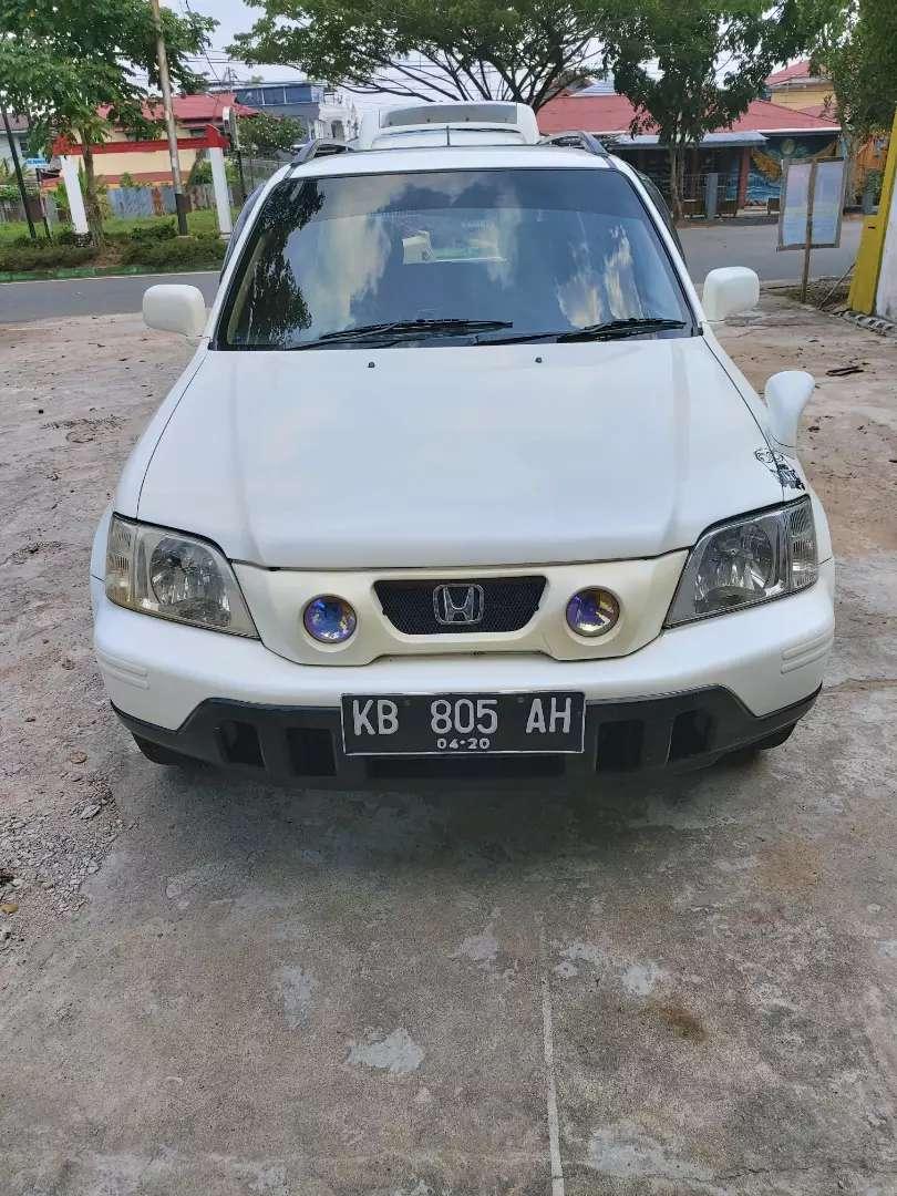 Honda CR-V  2001 2.0cc putih mulus dan terawat 0