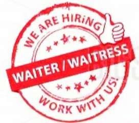 Waiter/waitress Hiring for premium cafe and restaurant