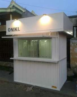Container usaha, booth dagang, booth coffe shop, booth minuman