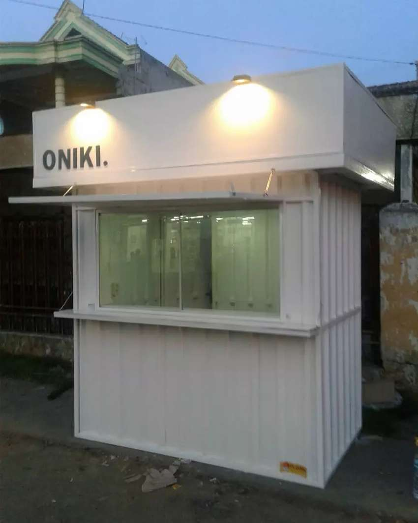 Container usaha, booth dagang, booth coffe shop, booth minuman 0