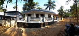 8 cent Land,3 bedroom house fully furnished, muncipal area