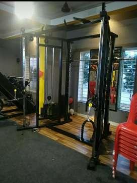 New commercial gym setup