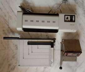 PVC I- card making set (Unused)