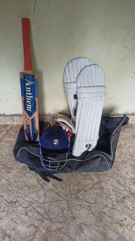Cricket kit all accessories