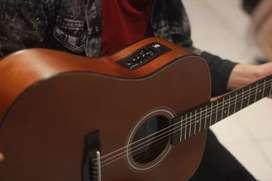 Gitar akustik elektrik Orlin ns