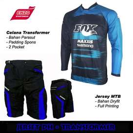COD POS - JerSet Sepeda DH Fox Maxxis
