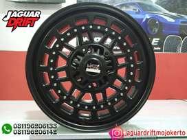 Velg Mobil HSR R17 MYTH08 Ring 17 Lebar 7,5 Baut 6X139,7 ET20 Pajero