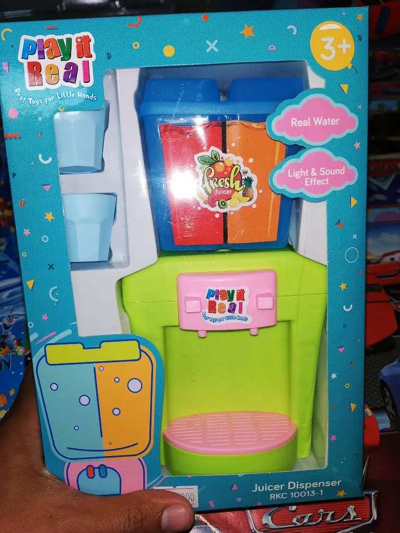 mainan anak dispenser baru free batre 0