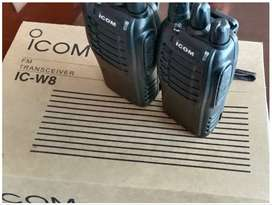 iNew Walkie talkie New ic-w8 UHF two way radio i com HD voice wireless