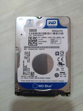 WD 500 GB Laptop HDD