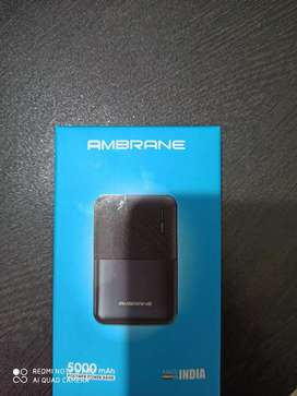 Ambrane Power bank 5000 mAh