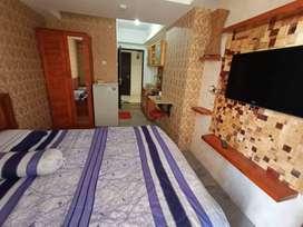 Sewaan-Apartemen-Untuk-Beristirahat-di Bandung-Per Hari&Bulan-1 Kamar