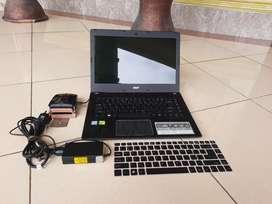 LAPTOP GAMING TERBARU Acer E5 476G BANYAK BONUS