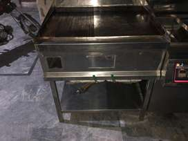 hot plate puls lining grill plate