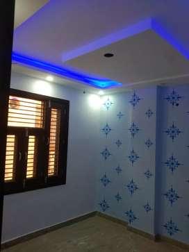 Newelly buildp flat for sale near uttam nagar west metro station