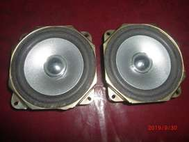 Car door speakers 2 piece front door sony japan