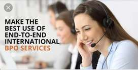 Need experience and freshers agent for international bpo