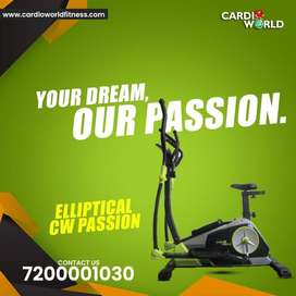New year special offer on Elliptical with 6 kg Magnetic wheel