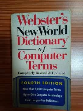 DIJUAL BUKU WEBSTER'S NEW WORLD DICTIONARY OF COMPUTER TERMS