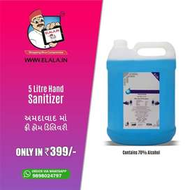 5 LITER WITH 70%, FREE DELIVERY