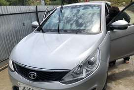 Tata zest fully loaded in new condition worth to buy and financed.