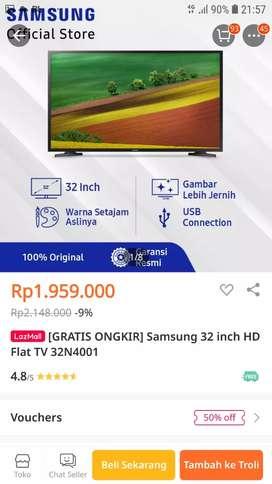 TV LED SAMSUNG 32 INCH DIGITAL TV MODEL:32N4001