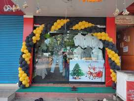 Menswear shop for sale at Paravattani, Thrissur